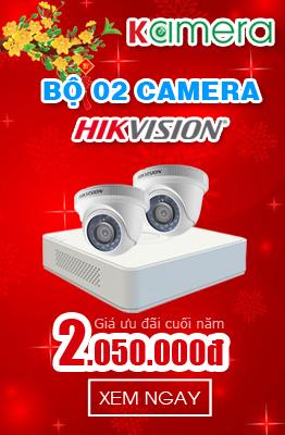 COMBO 4 CAMERA HIKVISION