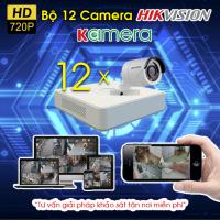TRỌN BỘ 12 CAMERA HIKVISION 720P