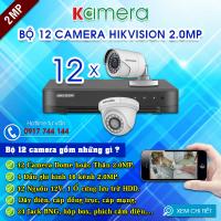 TRỌN BỘ 12 CAMERA HIKVISION 1080P