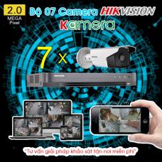 TRỌN BỘ 07 CAMERA HIKVISION 1080P