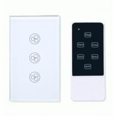 Công Tắc Cảm Ứng Thông Minh 3 Nút Điều Khiển Quạt SmartZ SWF Có Kèm Remote