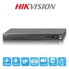 Đầu ghi hình IP HIKVISION DS-7604NI-K1/4P