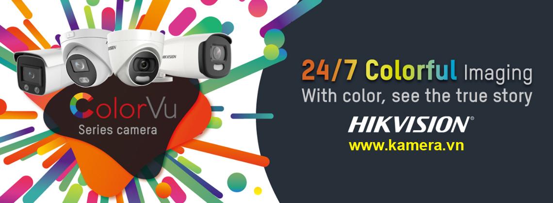 Camera ColorVu Hikvision